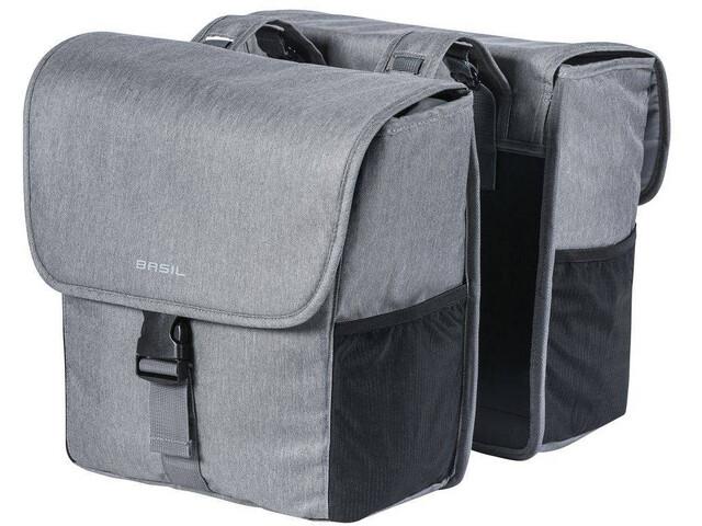 Basil Go Cykeltaske 32l grå (2019) | Rack bags